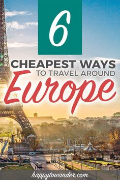 An epic guide explaining how to travel Europe on a budget, how to be saving money in Europe, finding cheap flights in Europe, and other tips on how to find the cheapest ways to travel Europe if you're on a budget. Budget travel tips Travel Through Europe, Europe Travel Tips, European Travel, Budget Travel, Travel Usa, Travelling Europe, Brazil Travel, Traveling Tips, Travel Abroad