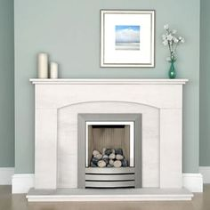 Bespoke Granite, Limestone and Slate fireplaces uniquely tailored in every aspect to suit any room, colour or size. Slate Fireplace, Limestone Fireplace, Fireplace Surrounds, Fireplace Design, Natural Stone Fireplaces, Fire Surround, Hearth, Natural Stones, Shelving