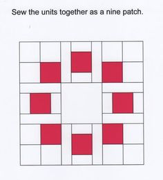 Circle of Squares Block Information from: http://toefeather.blogspot.ca/2011/01/circle-of-squares-block-information.html?m=1