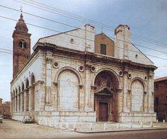 Tiempo Malatestiano L. B. Albertiego -  Referencia à arquitetura italiana.