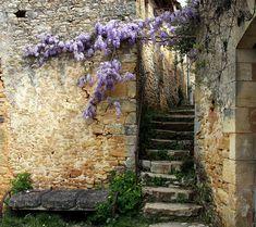ysvoice:    ♕   Ancient passage in Paunat, France   by © Yvan LEMEUR