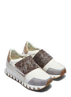 Rombaut Single-Strap Low-Cut Running Sneaker| LN-CC