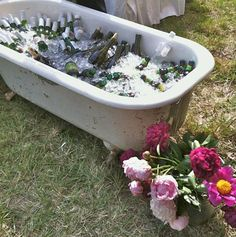 cute idea... not like I have a spare tub sitting around though :)