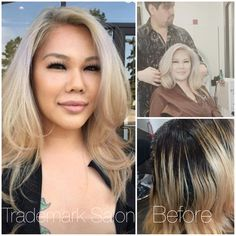 After several hours of color correction and two salon visits, I can say that I am pretty happy with the way this stunning platinum color turned out!  Color is a journey, not a destination. Vegas will never be the same after she is done with it!  THANK YOU LOVELY!  Enjoy Vegas and have a happy birthday!   #trademarksalon #platinumblonde #houstonstylist #iamgoldwell #kerasilkreconstruct #oribe #goldwell #dreamteam #hairbycarlos #mastercolorist