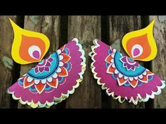 Diwali Cards, Diwali Diya, Diwali Greetings, Diwali Decoration Items, Diya Decoration Ideas, Diwali Craft For Children, Diy Fest, Diwali Lantern, Diy Crafts To Do