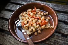CHICK PEAS WITH CUMIN AND TOMATO: This easy-to-make starter with its oriental flavours will refresh your taste buds on a hot summer day. Nutritional information per serving: 129 mg of calcium, 441 calories, 19 g of protein
