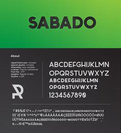 Sabado Free Font