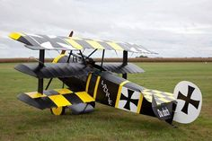 Beautiful Fokker tri-plane