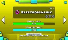 Hell no ! Geometry dash electrodynamix ! 73%