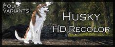 Husky HD Recolor - 4 texture variants -BETA- at Skyrim Nexus - Skyrim mods and community