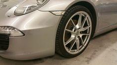 Porsche 911 - Wheel arch scrape - repaired to perfection.
