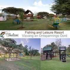 With the Apies river bordering this outstanding piece of land, Thulani Leisure Resorts brings nature closer to home. By visiting Thulani Fishing and Leisure Resort is like relaxing at your doorstep…With activities such as a swimming pool with 2 huge slides, a great play area with jungle gym and bikes for the younger kids, picnic and braai areas available and a dam for fishing, you are sure to find something to entertain everyone.
