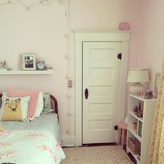 where dreams are made and sweet memories remembered  our daughter's room with twinkle lights, whimsy, reading nooks, and all treasures an 8 year old holds dear #girl #bedroom #hercuteroom #pink #books #twinkle #whimsy #bed #bright #treasures #homedesign #lights