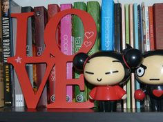 CHOK Pizarra pizarrón rojo Love.