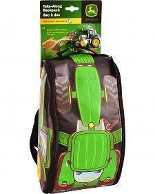 John Deere Tractor & Playmat Backpack