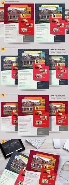 Open House Promotion Flyer V2