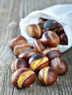 Find Delicious Roasted Chestnuts stock images in HD and millions of other royalty-free stock photos, illustrations and vectors in the Shutterstock collection. Chestnut Recipes, Roasted Chestnuts, Winter Food, Italian Recipes, Holiday Recipes, Winter Recipes, Winter Desserts, Love Food, Tapas