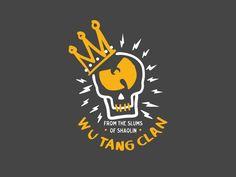 Wu-Tang Clan - Old Dirty Dermot Vector Design & Illustration Wu Tang Tattoo, Wu Tang Clan Logo, Vector Design, Logo Design, Hip Hop Lyrics, Hip Hop World, Retro Cartoons, Hip Hop Art, Rhythm And Blues