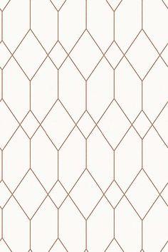 Esprit / Wallpaper with geometric pattern