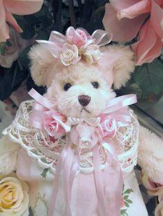 Victorian Pink Bear