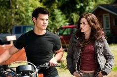Bella: Come on, don't be such a guy.  Jacob: No, it's...it's not a chick thing. It's uh...you know, a triangle thing. We all have to live with Leah, Sam, Emily pain fest. Wolf telepathy remember.