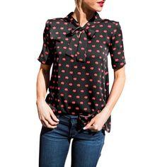 2017 Casual Women Summer Short Sleeve Shirt Blouse Loose Chiffon Tops Shirt