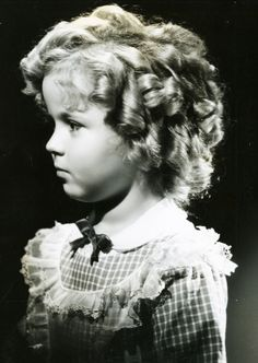 Shirley Temple, Portrait for The Littlest Rebel, 1935.