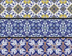 Adesivo Sinalização Azulejos Sabores de Portugal