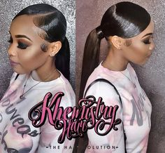 129 Best Low Ponytails Images In 2019 Natural Hair Styles