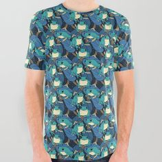 Treefrog Bonanza 2 All Over Graphic Tee by spazzynewton Keep Shopping, Frogs, Compliments, Graphic Tees, Articles, Men Casual, Unisex, Patterns, Space