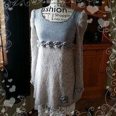 Elisabeth.H hobbyside: Tingeling kjole nr 3 i gråtoner