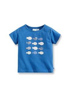 T-shirt motivo marina - Blu Delft - Le nostre selezioni - Obaïbi e Okaïdi