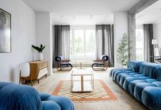 50s vibes and a contemporary touch in a house in Poland