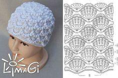 Crochet hat chart pattern weebee - Her Crochet Bonnet Crochet, Crochet Cap, Crochet Diagram, Crochet Baby Hats, Crochet Beanie, Crochet Home, Love Crochet, Crochet Motif, Crochet For Kids