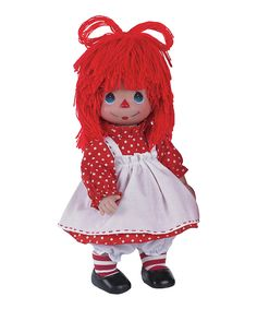 Look what I found on #zulily! Pretty Polka Dot Precious Moments Girl Doll by The Doll Maker #zulilyfinds
