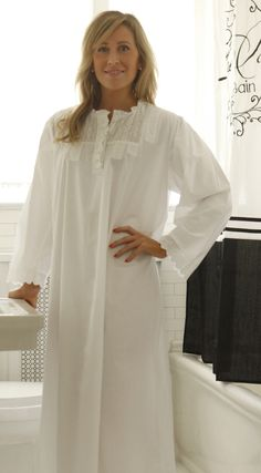 In Stitches, Victorian Nightgowns - Darlene Night Gown