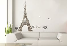 parisian decals - or paint it myself from projector