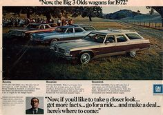 1972 Olds Wagons
