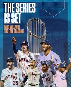 2017 World Series Houston Astros and Dodgers