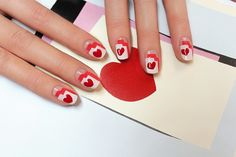 This isn't your average #ValentinesDay #manicure @POPSUGARBeauty