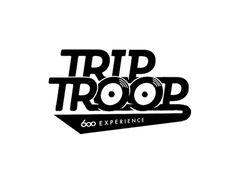 diseño grafico barcelona, diseño logotipo, lettering, ilustración, trip troop