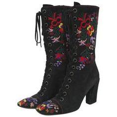 Miu Miu Embroidered Boots 3