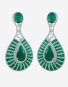 emerald n diamond superb design