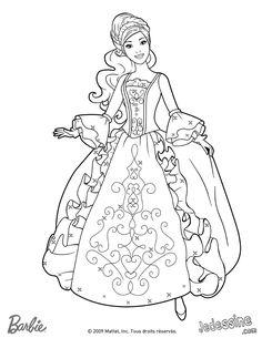 printable barbie princess dress book coloring pages printable coloring pages for kids