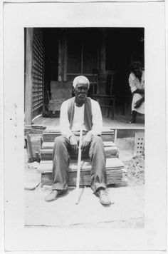 Felix Haywood   is a temperamental and whimsical old Negro of San Antonio. Texas, who still sees the sunny side of his 92 years, in spite of his total blindness. He was born and bred a slave in St. Hedwig, Bexar Co., Texas, the son of slave parents bought in Mississippi by his master, William Gudlow . Before and during the Civil War he was a sheep herder and cowpuncher.