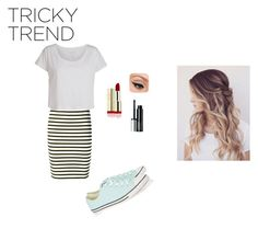 """""""run in a dress"""" by emma-victoria-e on Polyvore featuring A.L.C., Converse, Pieces, Clinique and LORAC"""