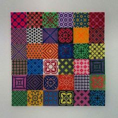 Hama perler bead mosaic by Marie Mann Skou