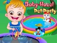 Enjoy Pet Party along with Baby Hazel and her friends. Play Baby Hazel Pet Party game on topbabygames.com at http://www.topbabygames.com/baby-hazel-pet-party.html