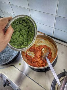 Coconut and Coriander paste to Tomato mix Masala Fish Recipes, Goan Recipes, Indian Food Recipes, Cooking Recipes, Ethnic Recipes, Coriander, Guacamole, Fries, Coconut