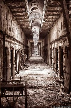 Eastern State Penitentiary - Philadelphia, PA (2011) - Nikon D7000 - Handheld HDR by numbphoto - new for 2012, via Flickr